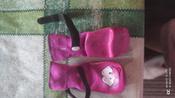 Носки для собак БАРБОСки с высоким латексным покрытием, фиолетовый, размер 1 #2, Миклашевская Лариса Ивановна