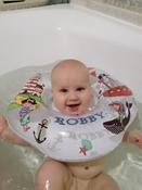Круг надувной на шею для купания новорожденных и малышей Robby от ROXY-KIDS #15, Регина М.