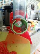 Измельчитель электрический Kitfort КТ-1382, белый, красный #15, Анна Б.