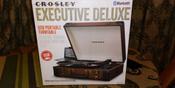 Проигрыватель виниловых дисков Crosley Executive Deluxe, коричневый, белый #6, Людмила Г.