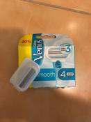 Gillette Venus Сменные кассеты для бритья, 4 шт #405, Наталья П.
