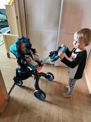 Детская игрушечная коляска-трансформер для кукол Aurora 9005 12-в-1 с люлькой-переноской и сумкой #13, саша д.