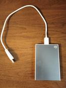 1 ТБ Внешний жесткий диск Seagate Backup Plus Slim (STHN1000402), голубой #10, Роман С.