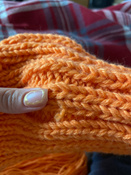 "Пряжа для вязания Астра ""Афродита"", цвет: оранжевый (05), 250 м, 100 г, 5 шт #13, Анна С."