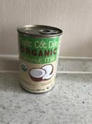 Кокосовое молоко органическое VietCOCO 73% без сахара растительное в жестяной банке 400 мл #12, Евгения С.