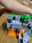 Конструктор LEGO Minecraft 21141 Пещера зомби #2, Анжелика Е.