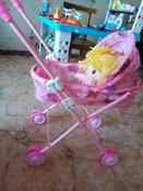 Коляска-люлька для кукол с перекидным капюшоном, металлическая, складная #6, Наталья К.
