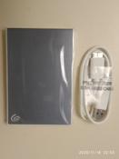 1 ТБ Внешний жесткий диск Seagate Backup Plus Slim (STHN1000402), голубой #1, Надежда С.