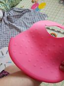 Нагрудник гибкий с кармашком 6 месяцев + розовый BabyOno #4, Марина С.