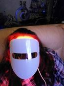 Gezatone Косметологический аппарат Светодиодная маска для омоложения кожи лица m1020 #7, Светлана