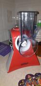 Измельчитель электрический Kitfort КТ-1382, белый, красный #7, Елена Г.