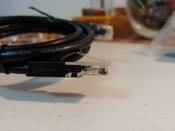 LAN кабель GCR для подключения интернета cat5e RJ45 1Гбит/c 1.5м патч корд черный #5, Вячеслав