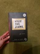 Уничтожь меня! Уникальный блокнот для творческих людей (темный) / Wreck This Journal | Смит Кери #12, каренгина е.