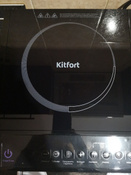Индукционная Настольная плита Kitfort KT-104, черный #7, Ольга Х.