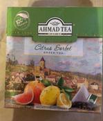 Ahmad Tea Citrus Sorbet зеленый чай в пирамидках, 20 шт #10, Инна Б.