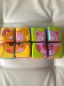 Мякиши мягкие кубики, Собери картинку: Зверята, 8 кубиков #9, Дарья Д.