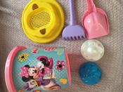 Disney Набор игрушек для песочницы Минни №12, 7 предметов, цвет в ассортименте #4, Катерина М