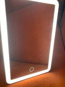 Gezatone Зеркало косметическое с подсветкой, цвет: белый, LM125 #9, Rosiia T.