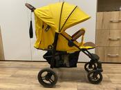 Прогулочная коляска Nuovita Corso (Giallo, Nero / Желтый, Черный) #9, Евгения Т.