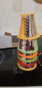Измельчитель электрический Kitfort КТ-1382, белый, красный #8, Елена Г.