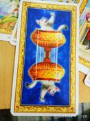 "Карты Таро Lo Scarabeo ""Таро белых кошек"" #14, Наталья Н."