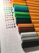 Набор капиллярных ручек линеров STABILO Point 88, 20 цветов #15, Виктория П.
