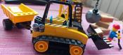 Конструктор LEGO City Great Vehicles 60252 Строительный бульдозер #5, Киреева Алина