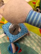 Развивающий кубик для самых маленьких с зеркалом и прорезывателем Кекс, Мякиши #9, Тамара Р.