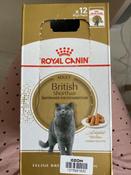 """Консервы Royal Canin """"British Shorthair Adult"""", для кошек британской породы старше 12 месяцев, мелкие кусочки в соусе, 85 г, 12 шт #7, Наталья Л."""