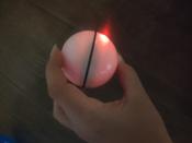 Интерактивная игрушка для кошек PetLeon Вращающийся на 360 градусов мяч USB заряжаемый светодиодная подсветка #9, Мария Г.