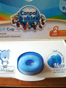 Чашка-непроливайка, Canpol Babies  180 мл. Медвежонок 9+, цвет: синий #10, Наталья