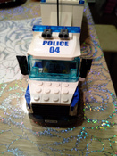 Конструктор LEGO City Police 60139 Мобильный командный центр #10, Александра М.