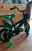 Детский велосипед Yibeigi V-12 зеленый #10, Юлия Б.