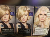 """L'Oreal Paris Стойкая краска для волос """"Preference, Платина Ультраблонд"""", 8 тонов осветления #14, Ольга Ш."""
