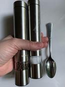 Набор автоматических мельниц для соли и перца Kitfort KT-2028, серебристый #1, Юлия Л.