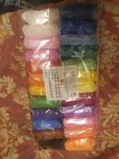 Воздушный пластилин Бестселлер, мягкий, легкий, яркий, скульптурный. Набор из 24 штук ( 2 упаковки по 12 цветов + инструменты для лепки в подарок). #1, Надежда Л.