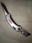 Нож универсальный складной 2 в 1 VIRA RAGE #9, Николай В.