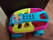 Тележка-сортер для сбора деталей  Mega Bloks, розовый #15, Адиля У.