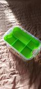 Контейнер с вкладышем Ар-Пласт Аптечка, медведь, зеленый, 11 л #2, Алла Б.