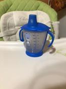 Чашка-непроливайка, Canpol Babies  180 мл. Медвежонок 9+, цвет: синий #7, Надежда К.