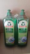 Средство для мытья посуды Frosch Зеленый лимон, 1 л х 2 шт #4, Светлана А.