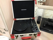 Проигрыватель виниловых дисков Crosley Executive Deluxe, белый, коралловый #2, Ирина Г.