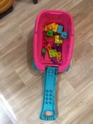 Тележка-сортер для сбора деталей  Mega Bloks, розовый #12, Борзунова Анна