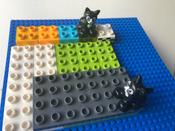 Конструктор LEGO Classic 10714 Синяя базовая пластина #6, Константин Сергеевич