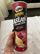 Чипсы Pringles Asian Collection, рисовые, со вкусом малазийского красного карри, 160 г #2, Юлия Г.