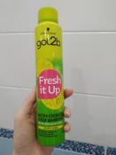 """Got2b Fresh it Up Парфюмированный сухой шампунь """"Экстра-свежесть, легкий и свежий"""", 200 мл #9, Ольга"""