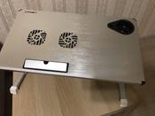 """Столик/подставка для ноутбука Crown Micro Crown Micro CMLS-101 столик для ноутбука 17"""", 50х28х32 см #2, Юлия Я."""