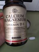 "Solgar, Calcium Magnesium with Vitamin D3 ""Кальций-Магний с Витамином D3"", 150 таблеток #3, Алла"