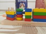 Краснокамская игрушка Набор строительных деталей Геометрик #13, Валерия