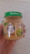 Пюре фруктовое Gerber Только яблоко, первая ступень, 12 шт х 130 г #6, Елена